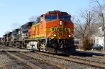 BNSF 4509 eastbound